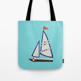 Sailboat I Tote Bag