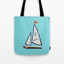 Sailboat I Tote Bag