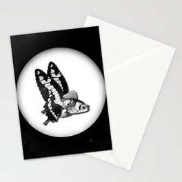 THE BUTTERFLY FISH - James Stationery Cards