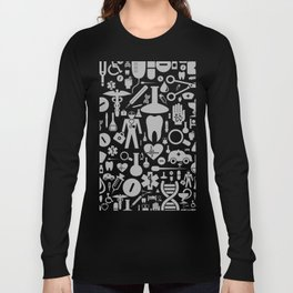 Medical background Long Sleeve T-shirt
