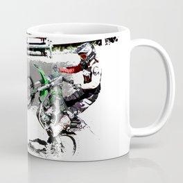 Making a Stand - Freestyle Motocross Rider Coffee Mug