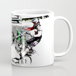 Making a Stand - Freestyle Motocross Rider Coffee Mug
