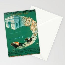 Plakat prix de larc de triomphe loterie Stationery Cards
