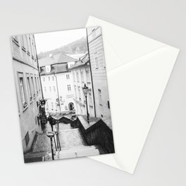 Streets Of Prague Stationery Cards