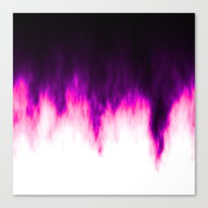 Pink and Purple Flames Canvas Print