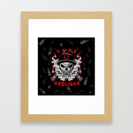 VAPE HOOLIGAN Framed Art Print