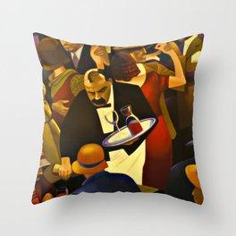 The Speakeasy Throw Pillow
