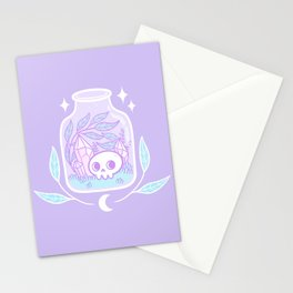 Pastel Terrarium Stationery Cards