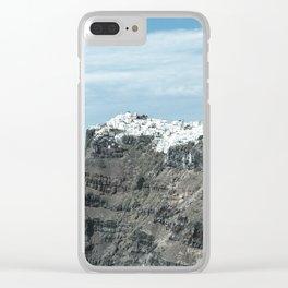 Santorini, Greece 16 Clear iPhone Case
