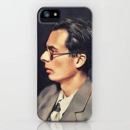Aldous Huxley, Literary Legend iPhone Case
