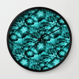 Sea Green.... Wall Clock