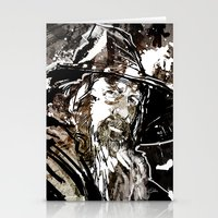 gandalf Stationery Cards featuring Gandalf by Patrick Scullin