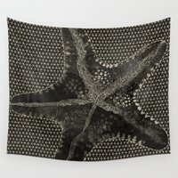 starfish Wall Tapestries featuring STARFISH by Mary Szulc