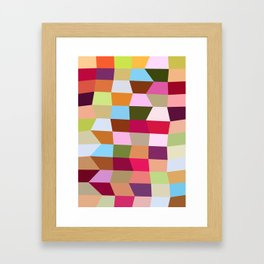 The Jelly Beans Framed Art Print