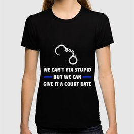 Funny Law Enforcement Police Officer  T-shirt