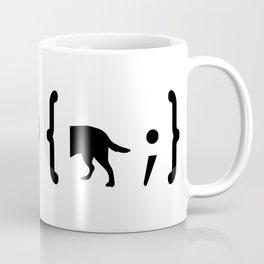 Full Stack Cattle Dog - Front End / Back End Developer Dog Coffee Mug