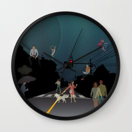 Ghost Hour Wall Clock