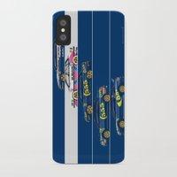 subaru iPhone & iPod Cases featuring Colin McRae, The Subaru Years by Ricardo Santos