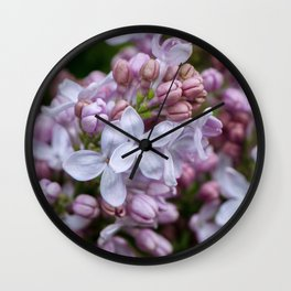 i made wine from the lilac tree Wall Clock