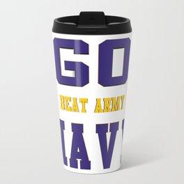 GO NAVY- Beat Army Travel Mug