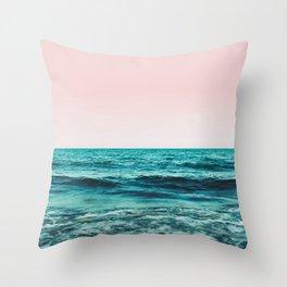 Ocean Love #society6 #oceanprints #buyart Throw Pillow