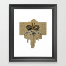 until we bleed Framed Art Print