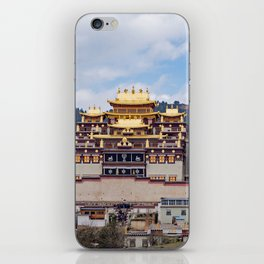 Songzanlin Tibetan Monastery iPhone Skin