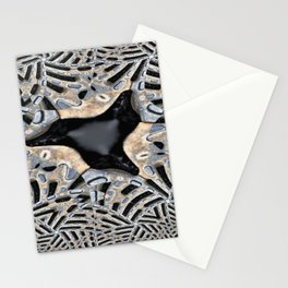 black spot in the grid Stationery Cards