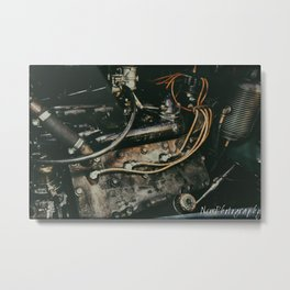 Cadillac Lasalle Flathead Engine Metal Print