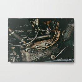 Vintage Lasalle Flathead Engine Metal Print