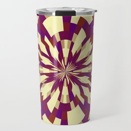 Raster kaleidoscope n° 5 Travel Mug