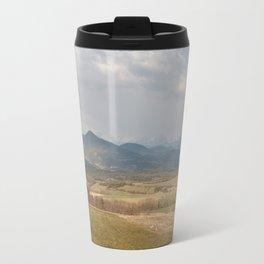 French mountain view Travel Mug