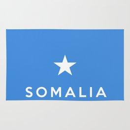 Somalia country flag name text Rug