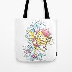 Something Seems a Little Fishy Tote Bag
