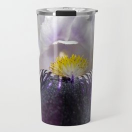 Miniature Tall Bearded Iris named Consummation Travel Mug