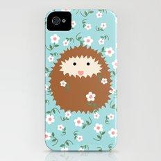 Hedgie in Spring iPhone (4, 4s) Slim Case