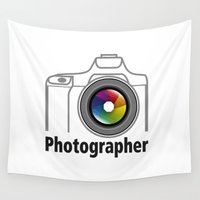 community Wall Tapestries featuring Photographer Community by Jatmika jati