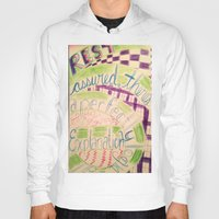 gravity falls Hoodies featuring Gravity Falls Quote by writingoverashes