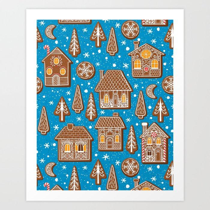 Cookie town Art Print