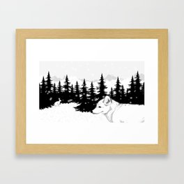 Arctic Animals - Arctic Tundra Framed Art Print