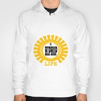 hiphop Hoodies featuring HIPHOP by Robleedesigns