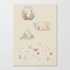 Habitats Canvas Print