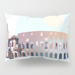Rome Colosseum Pillow Sham