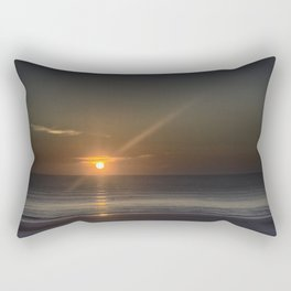 Breaking Dawn Daytona Beach Rectangular Pillow