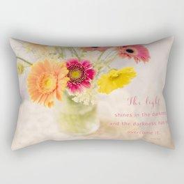 Summer Floral* Rectangular Pillow
