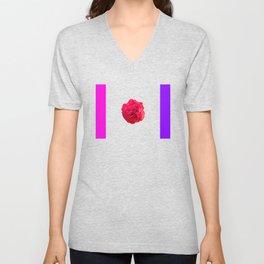 Blossom of a rose Unisex V-Neck