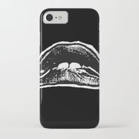 rocky horror picture show iPhone & iPod Cases featuring LIPS (Rocky Horror Picture Show) by Blake Lee Ferguson