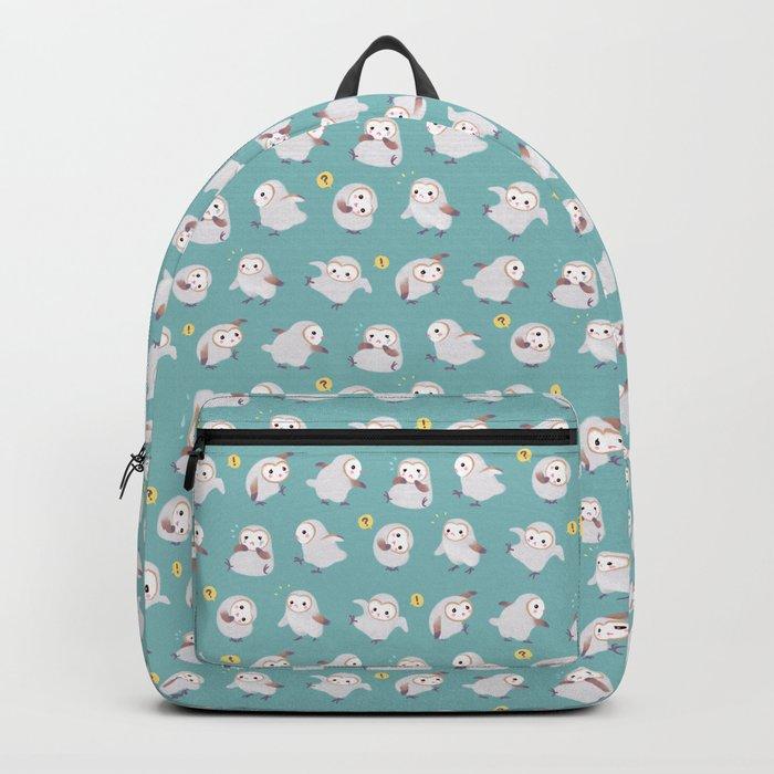 Baby Barn Owls Backpack