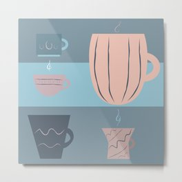 Coffee Luv Metal Print