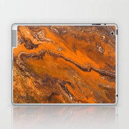 Amber Fire Laptop & iPad Skin